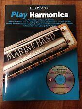 Play Harmonica Step One Book/Cd