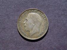 1921 ENGLAND HALF CROWN SILVER COIN