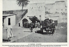 MAROC MOROCCO RABAT AVIATION MATERIEL SAPEUR IMAGE 1912
