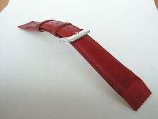 Cinturino pelle misura 18 mm. colore marrone per orologi vintage con anse fisse