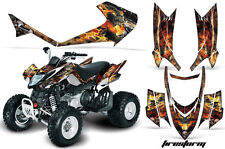 Arctic Cat AMR Racing Graphics Sticker Kits ATV DVX 400/300 Decals DVX400 FIRE B