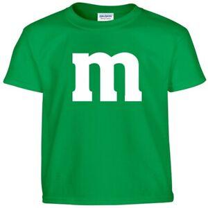 M&M Youth Halloween Costume M and M Boys Girls Kids Tee T Shirt