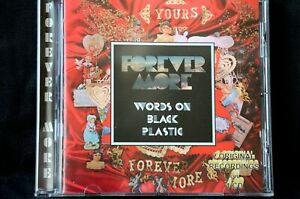 Forever More Words On Black Plastic/Yours Forever More 2 on 1 CD New