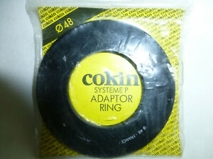 Genuine COKIN 48mm P Series Adaptor Ring Made In France New 48