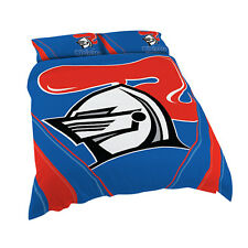 Newcastle Knights NRL QUEEN Bed Quilt Doona Duvet Cover Set *NEW 2019* GIFT