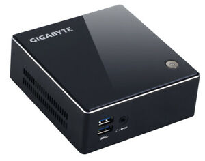 Mini PC de Bureau GIGABYTE BRIX I3 - 4Go - 256SSD + 500HDD - HDMI - Windows 10