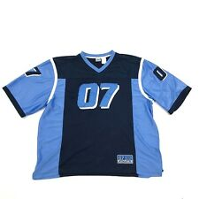 VINTAGE Athletic 07 Jersey Size XXL 2XL Baggy Throwback V-neck Sewn On Patchwork