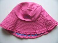 UV Skinz Girls Bucket Hat Pink Reversible Sun Cap Size 7