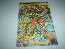 Astonishing Tales #25 -- 1st Appearance of Deathlok, 1st George Perez artwork