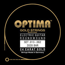 Optima/Maxima  24K Gold Electric Strings 13-62 Baritone 2028 Bar