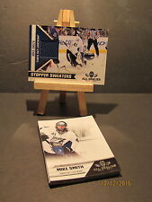 2010-11 Panini All Goalies Stopper Sweaters Blue #12 Mike Smith + 10 Base