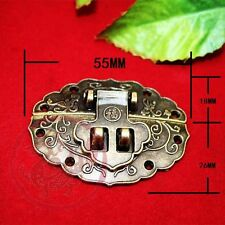 Chinese Old Thick Lock Latch Blessing Totem Buckle Clasp For Cabinet Jewelry Box