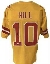 Pro Bowl WR Tyreek Hill Authentic Autographed Kansas City Chiefs Jersey ✌🏿  🏆