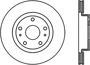 Disc Brake Rotor-Sport Drilled Disc Front Left Stoptech 128.48012L