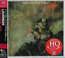 LOUDNESS DISILLUSION JAPAN 2009 RMST HQ HIGH FIDELITY FORMAT CD - AKIRA TAKASAKI