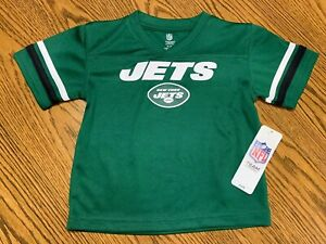 New York Jets NFL Toddler Boys' Short-Sleeve Replica Jersey, Size 2T, NWT