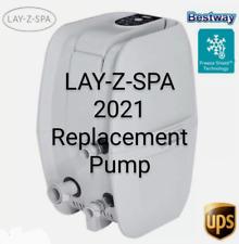 LAY Z SPA VEGAS REPLACEMENT  PUMP / HEATER - LATEST 2021 MODEL + FREEZE SHIELD