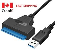 "USB 3.0 to SATA 2.5"" Hard Drive HDD SSD 22Pin Adapter Converter Cable"