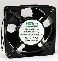 Cooling Fans 120x120x38mm 110 Volts Metal