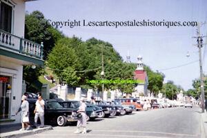 Quebec Québec Ste-anne de beaupre beaupré avenue royale automobile old car