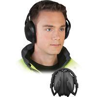 Kapselgehörschutz Gehörschutz Arbeitsschutz  Schwarz SNR 21,9dB NEU TOP