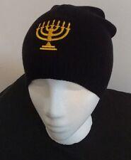 Hebrew Israelite Holy Menorah Skull Cap