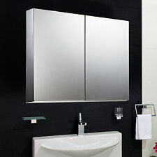 Homcom 22 Wall Mount Mirrored Bathroom Medicine Cabinet Storage Mirror Door New