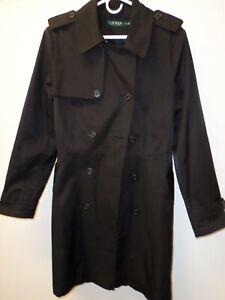 Ralph Lauren-Women's Rain Coat-Black-XL-Excellent Condition
