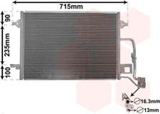 Kondensator, Klimaanlage für Klimaanlage VAN WEZEL 58005189