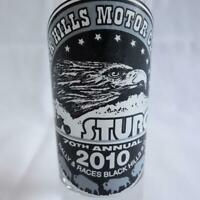Sturgis 70th Annual Rally 2010 Black Hills Motor Classic Tall 2 Oz Shot Glass