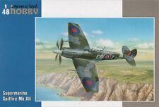 SPECIAL Hobby 1/48 MOTORE Supermarine Spitfire Mk. XII # 48107