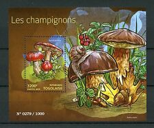 Togo 2015 MNH Mushrooms 1v S/S Champignons Russula paludosa