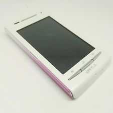 SONY ERICSSON XPERIA X8 E15i WHITE MOBILE PHONE AS A PARTS DONOR