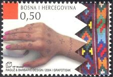 Bosnia 2004 Tattooing/Tattoos/Hand/Art/Design/Decoration 1v (n44350)