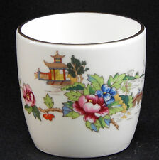 PAGODA Bone China - Crown Staffordshire England - Toothpick / Match Holder, RARE