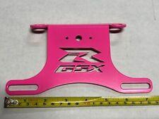 SUZUKI GSXR GSX-R 600 750 FENDER ELIMINATOR TAIL TIDY   PINK         2006 - 2010