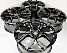 22 Inch SVR Style Gloss Black Wheels Fit Range Rover Land Rover 5x120 Rims Set 4