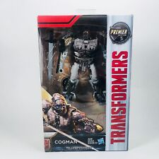 Hasbro Transformers Cogman Action Figure The Last Knight Premier Edition Deluxe