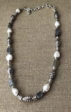 Brighton Freshwater Pearls Labradorite Necklace