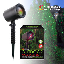 New Red & Green Xmas Outdoor LED Laser Light Projector Christmas 4 Modes SALE
