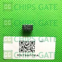 7PCS ICL7667CPA Encapsulation:DIP-8,Dual Power MOSFET Driver