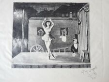 Lithographie Guy VOGEL Cirque Spectacle (485)