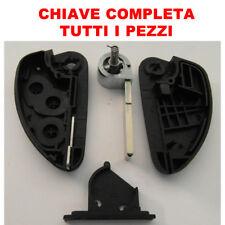 Cover Chiave Guscio Telecomando 3 Tasti Auto Alfa Romeo 147 156 166 GT BRERA yp