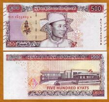 Myanmar, 500 Kyats ND (2020), P-New, UNC > Redesigned New Issue