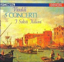 FREE US SHIP. on ANY 2 CDs! NEW CD : Vivaldi: 5 Concerti