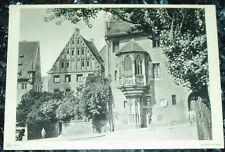 Nürnberg Sebalder Pfarrhof: alte Tafel Fotographie groß