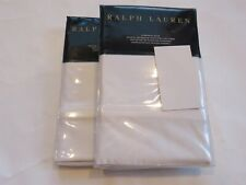 2 Ralph Lauren Bedford Sateen 800TC euro shams White $370