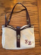 "FS Original Purse Fay Swafford With Monogram JB 13""x9"""