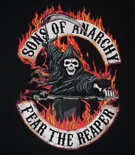 """Sons of Anarchy - logo / """"Fear the Reaper"""" t-shirt - XL size - FX - SAMCRO"""