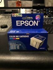 2 Pack Epson Color S020191 Ink Cartridges for Stylus 440 640 660 740 7401i+ NIB!